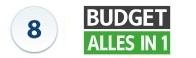 Budget Alles in 1 TV en Internet vergelijken Actie